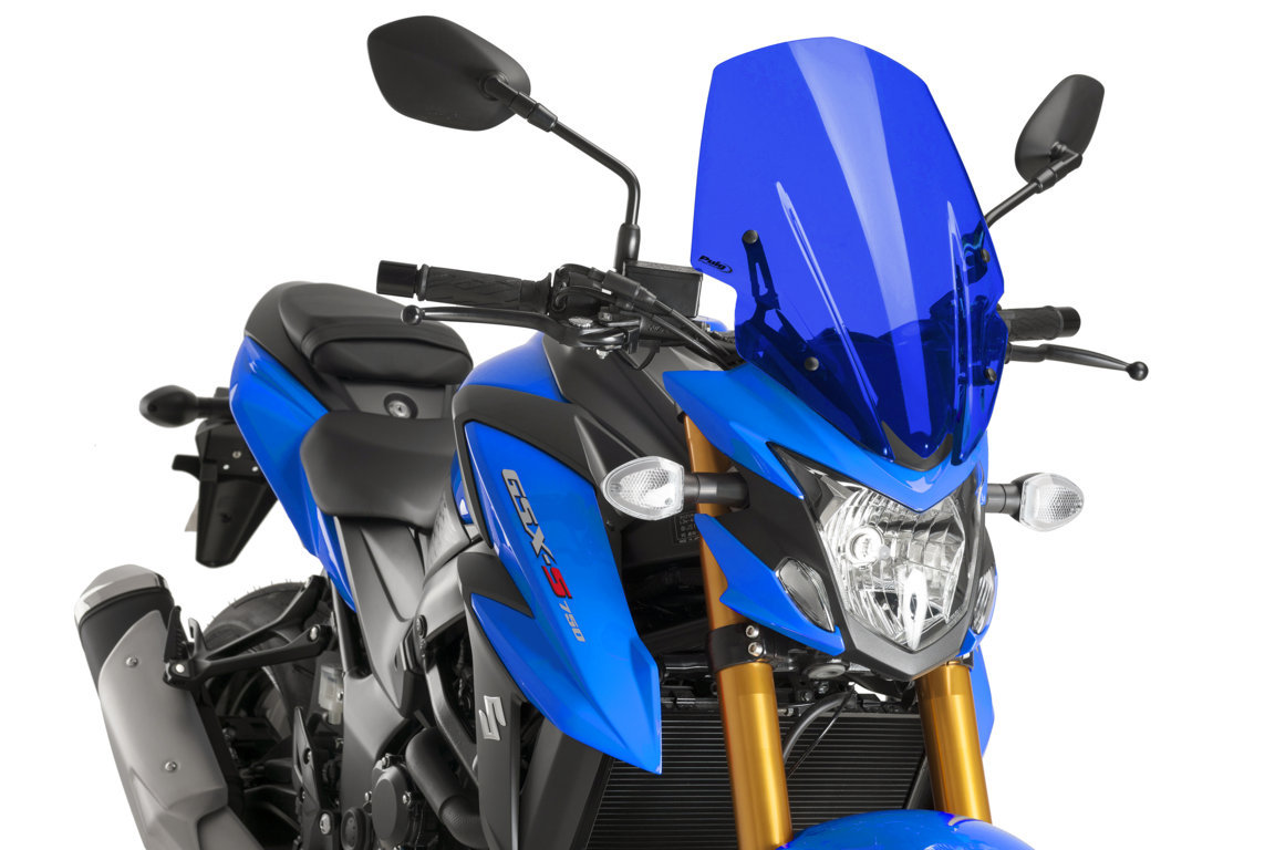 AVAILABLE NEW PUIG PRODUCTS FOR SUZUKI GSX-S750 2017